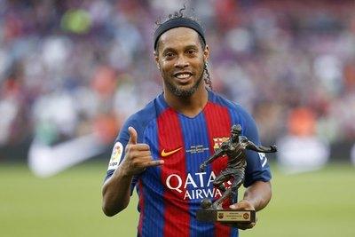 Ronaldinho estará en La Nueva Olla