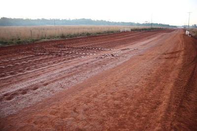 Inician pavimentación que unirá las localidades de San José de los Arroyos – Tebicuary