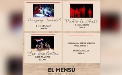"""Obra """"Paraguay Inmortal"""" se estrena esta noche en museo """"El Mensú"""""""