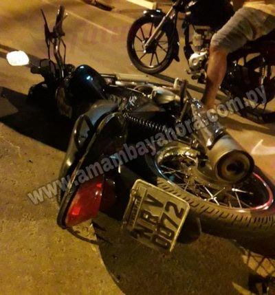 Motociclista muere tras chocar contra una patrullera en Bella Vista