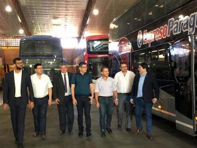 Sector privado invirtió USD 1,3 millones en nuevos buses de larga distancia