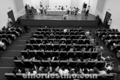 """Movimiento Social """"Yo Defiendo Pedro Juan Caballero"""" realiza reunión en el salón auditorio del Palacete Municipal"""