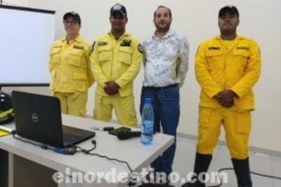 Presentación de la Academia Nacional de Bomberos Voluntarios del Paraguay K-51 de Pedro Juan Caballero