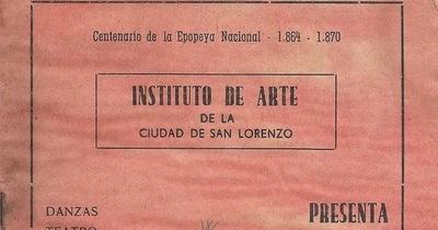 La primera escuela de arte de San Lorenzo