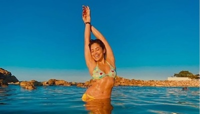 Kassandra Frutos de vacaciones por Jamaica