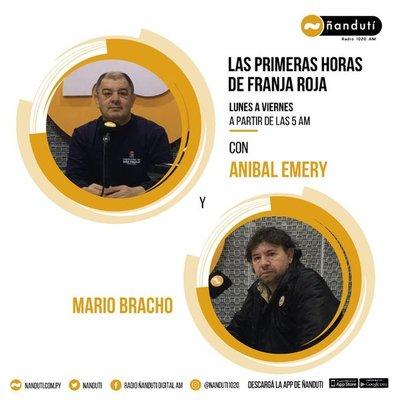 Las Primeras Horas de Franja Roja con Aníbal Emery y Mario Bracho