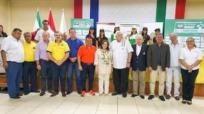 Presentaron oficialmente el Rally Trans Itapúa