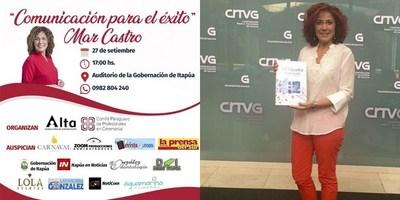 MAR CASTRO LLEGARÁ CON UN EXCLUSIVO ENTRENAMIENTO EN COMUNICACIÓN EN LA GOBERNACIÓN DE ITAPÚA