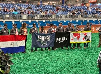 Brahman Paraguay plantó su bandera en la exposición más importante del mundo