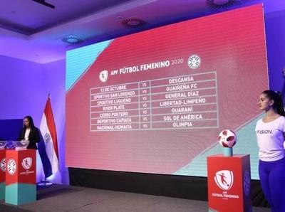 Apertura del Fútbol Femenino comienza el 9 de mayo
