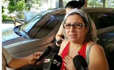 Imputada por asesinato de Naydelin fue trasladada a cárcel de Misiones