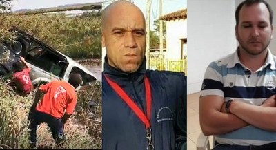 CONFIRMAN IDENTIDAD DE LOS  FALLECIDOS EN VUELCO FATAL