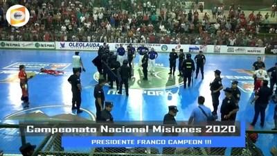 No pudo ser para San Ignacio, Franco se coronó Campeón