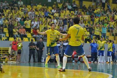 Presidente Franco Campeón Nacional de fútbol de salón