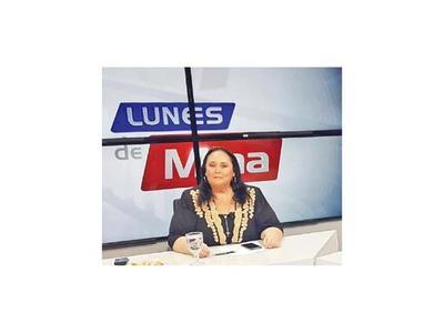 Lunes de Mina, por NPY, entrevista hoy a Mario Abdo Benítez