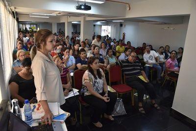 Un taller sobre  inclusión con 200 maestros