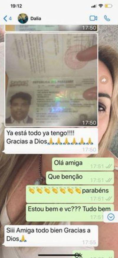 Dalia López gestionó los documentos falsos de Ronaldinho. Testigo presentó pruebas