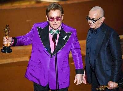 """Oscars 2020: Elton John gana """"Mejor canción original"""""""