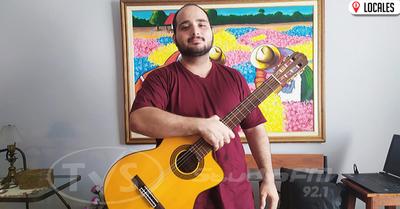 Joven Itapuense recorre el mundo mediante la música
