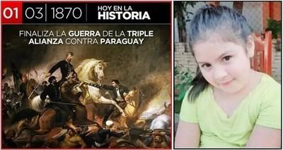 El primero de Marzo, un día de doble congoja para el Paraguay