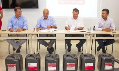 » De La Sobera renueva alianza con Shell Lubricantes