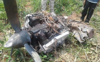 Hallan  restos de avión que se habría usado en narcotráfico