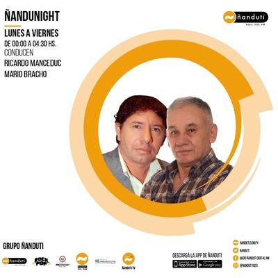Ñandu Night con Ricardo Manceduc y Mario Bracho