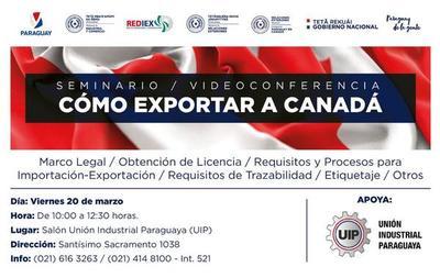 MIC habilita inscripción para seminario ¿Cómo exportar a Canadá?
