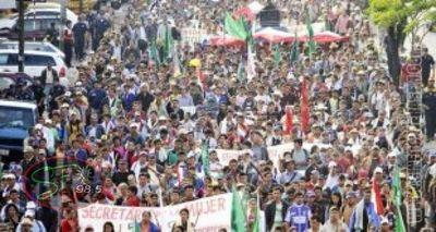Federación Campesina denuncia desalojos y anuncia copar Asunción