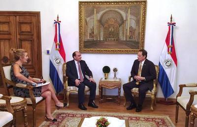 Paraguay y Estados Unidos estrechan relaciones bilaterales en seguridad, comercio e inversiones