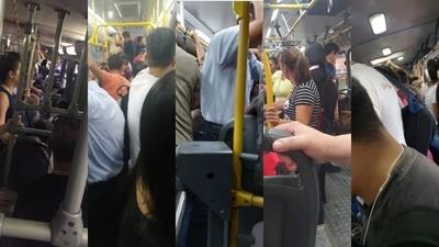 HOY / Transportistas desacatan medidas de prevención y pasajeros viajan parados