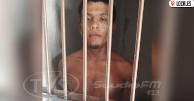 Agentes Policiales lograron aprehender al supuesto autor del robo en una escuela de Cambyretá