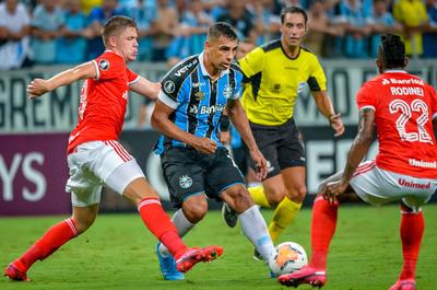 Gremio-Inter, 8 expulsados y ningún gol