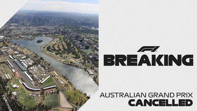 El Gran Premio de Australia de F1 es anulado