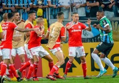 Video: Estos son clásicos de Libertadores!. La batalla campal entre Gremio e Inter