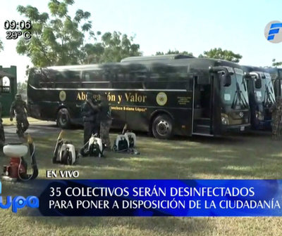 Buses de FF.AA apoyarán traslado de ciudadanos desde el lunes