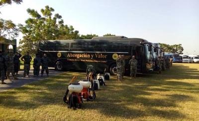 Fuerzas Armadas apoyarán con 35 buses para evitar aglomeración