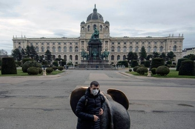HOY / Austria anuncia multas a personas que se reúnen y restringe la libertad de movimiento