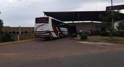 Denuncia falsa contra pasajera de bus