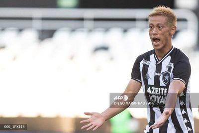 Keisuke Honda debuta con gol con el Botafogo