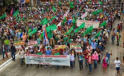 Covid 19: Campesinos suspenden marcha y se solidarizan con médicos