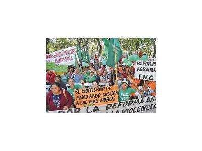Postergan marcha campesina a causa de  actual pandemia