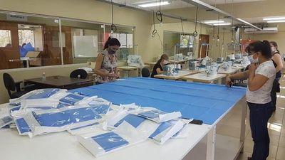 SNPP confeccionará 3000 tapabocas para Salud Pública