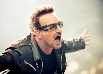 Bono de U2 transmitió una nueva canción a través de redes sociales
