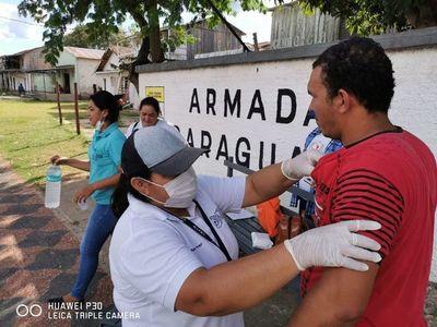 Control fronterizo en medio de precariedad de salud en el Chaco