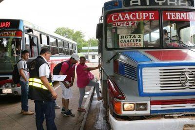 Cierran la Terminal de Omnibus deAsunción