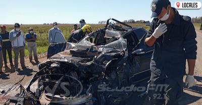 Heridos y daños materiales tras un accidente de tránsito en Coronel Bogado