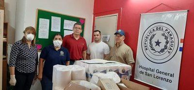 Hospital de Calle'i recibió donativos del Rotary Club local