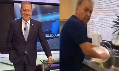 Óscar Acosta víctima del tik tok de su hija