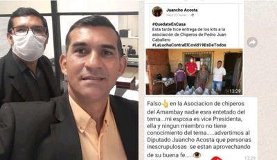 COVID-19: Abogado 360 llama de aprovechadores a miembros de la Asocuam en Pedro Juan